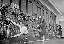 Presentación del ordenador ENIAC