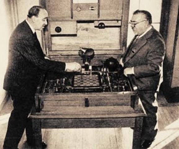 Maquina capaz de jugar ajedrez
