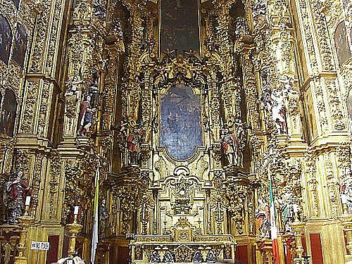 Barroco Novohispano (Nueva España) - Retablo de los Reyes -  Catedral Metropolitana de la Ciudad de México - Jerónimo de Balbás