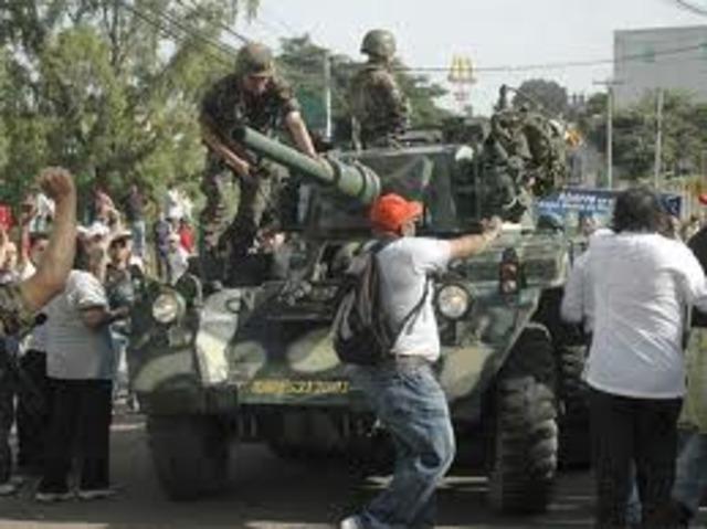 Golpe de Estado contra el gobierno constitucional de Honduras