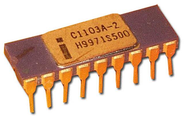 Intel crea la primera memoria RAM