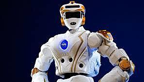 Robot humanoide utilizado como astronauta.