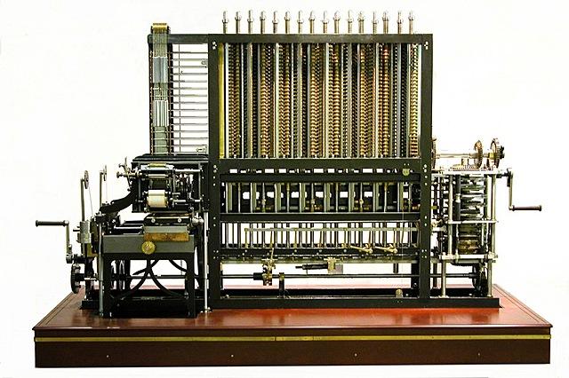 1era Computadora mecánica