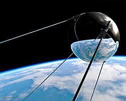 Εκτόξευση πρώτου δορυφόρου