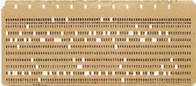 Tarjetas Perforadas De Datos