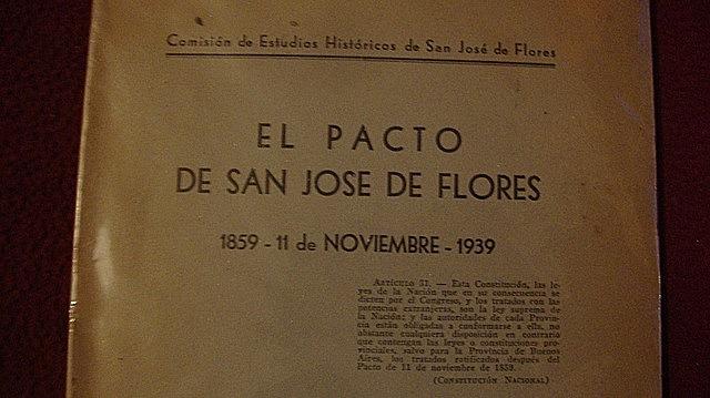 PACTO SAN JOSE DE FLORES