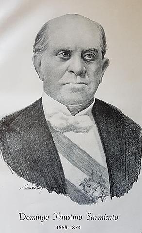 PRESIDENCIA DE SARFMIERTO - 1868-1874