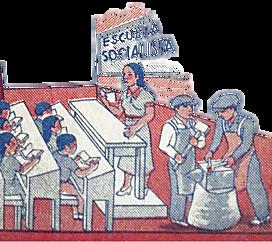 La educación socialista finalmente fue plasmada en la Constitución.