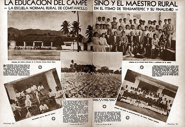 1934 – 1940 Narciso Bassols promovió la legislación en la educación secundaria y colaboró para la creación de las Escuelas Rurales Campesinas.