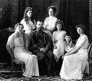 La ejecución de los bolcheviques y del zar Nicolás II