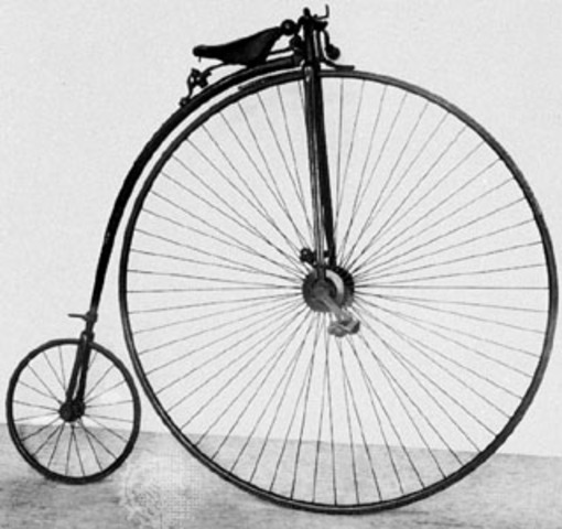 High Wheeled Bicycle