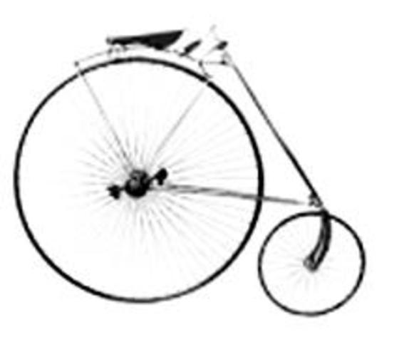 High Wheel Saftey Bicycle