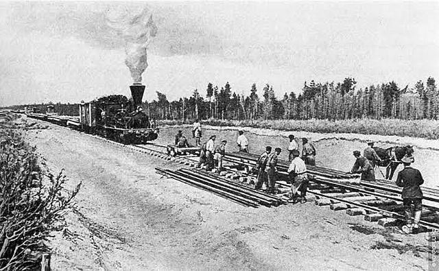 Autorización para construir Ferrocarril Nacional