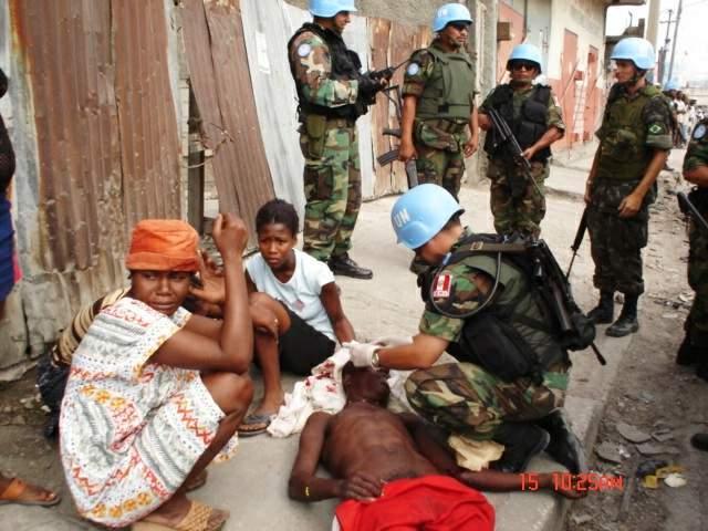 Establecimiento de la Misión Civil Internacional en Haití