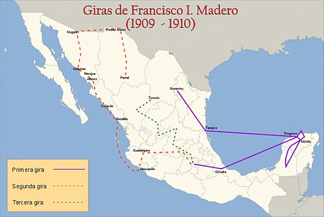 Gira presidencial de Madero
