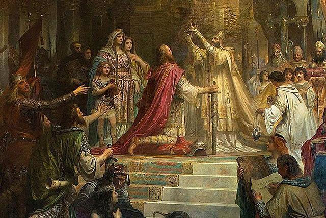 Declaran emperador a Carlemany