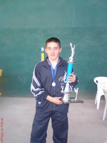 Universiada 2010. Subcampeón de Lucha Olímpica