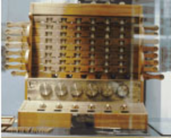 Primera maquina de multiplicar