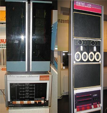 Minicomputadoras (PDP - 8 y la PDP - 11)
