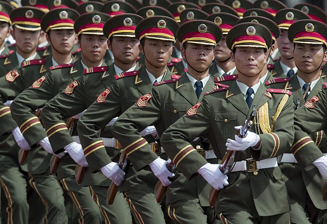 Viet Cong receive military aid from China