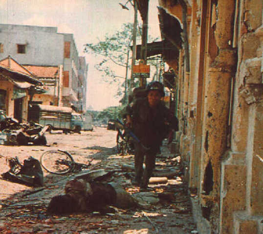 The North Vietnamese join forces with the Viet Cong for the TET offensive