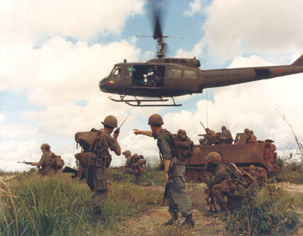 The North Vietnamese cross the DMZ- known as the Easter Offensive