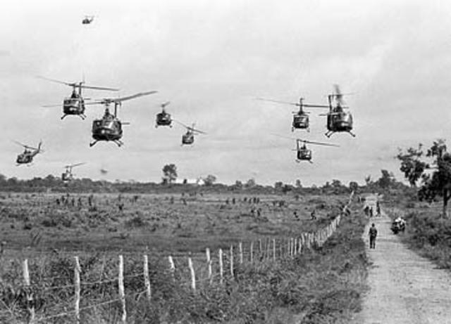 North Vietnam launches a massive assult on South Vietnam