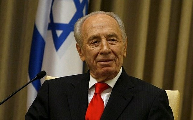 PM Shimon Peres returns to office