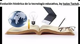 Evolución histórica de la tecnología educativa-etapas. timeline