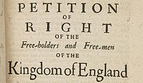 Petición de derechos.