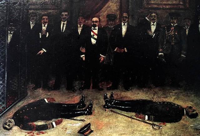 Decena Trágica y asesinato de Madero