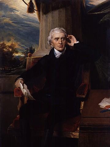 Muerte de Sir Francis Baring y Abraham Goldsmith