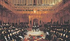 Lionel de Rothschild toma su puesto en el parlamento