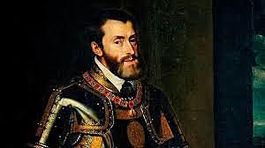 Carlos I abdica en su hijo Felipe y en su hermano Fernando. Se retira al monasterio de Yuste, donde muere 1558.