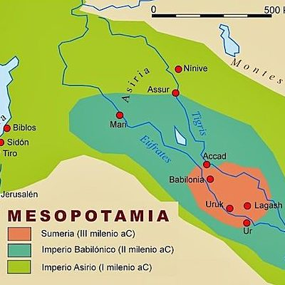 MESOPOTAMIA EN LA EDAD ANTUGUA timeline