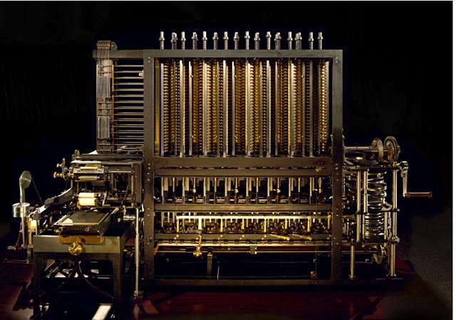 Maquina analítica y diferencial de Babbage (1792-1871)