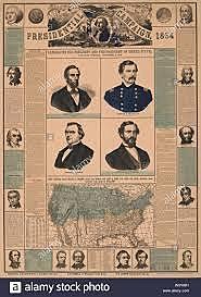 Lucha Política contra Abraham Lincoln