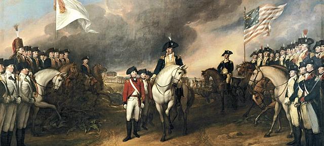 Slutten i amerikanske revolusjon
