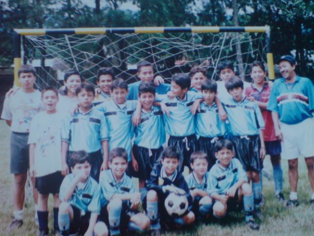 Mi primer equipo de Futbol