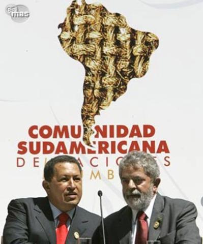 En la ciudad de Cusco (Perú) se crea la Comunidad Sudamericana de Naciones