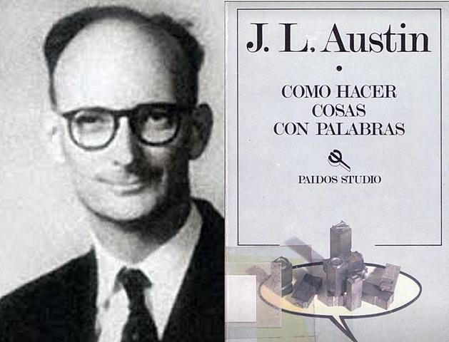 Actos de habla según John Langshaw Austin (Teoría pragmática)