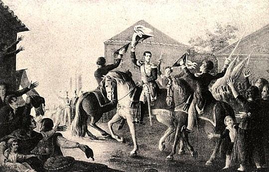 Revoluciones liberales en 1820