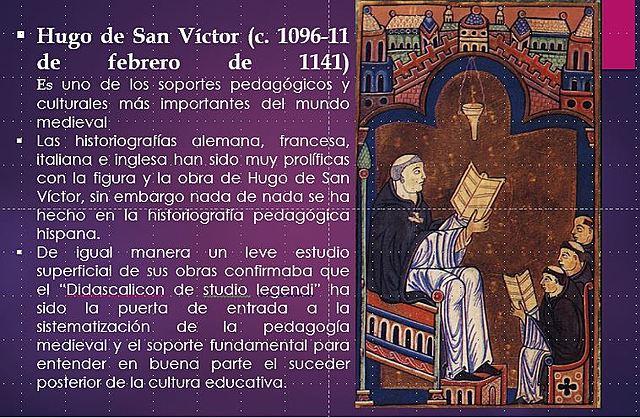 Hugo de San Víctor 1096-1141