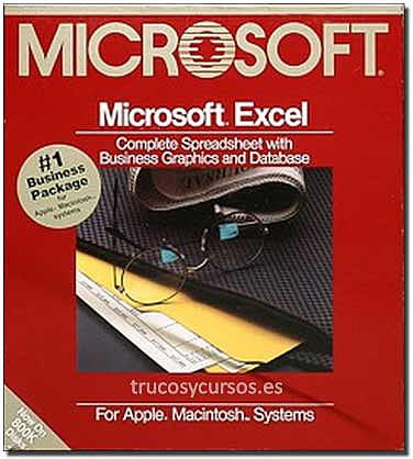 Microsoft excel 1.0