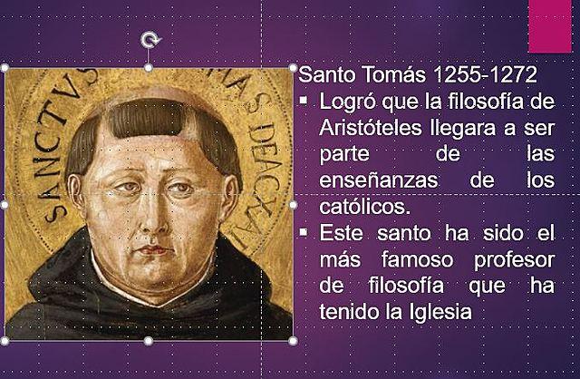 Santo Tomás de Aquino 1255-1272