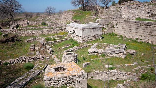 Fundación de la ciudad de Troya