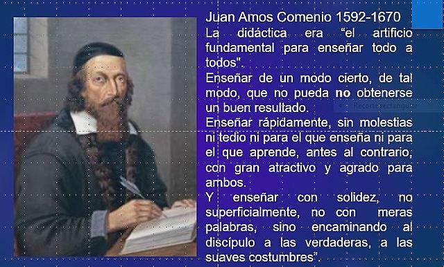 Siglo XVII un gran avance Juan Amos Comenio 1630