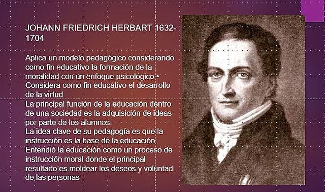 Johann Friedrich Herbart 1776 - 1841