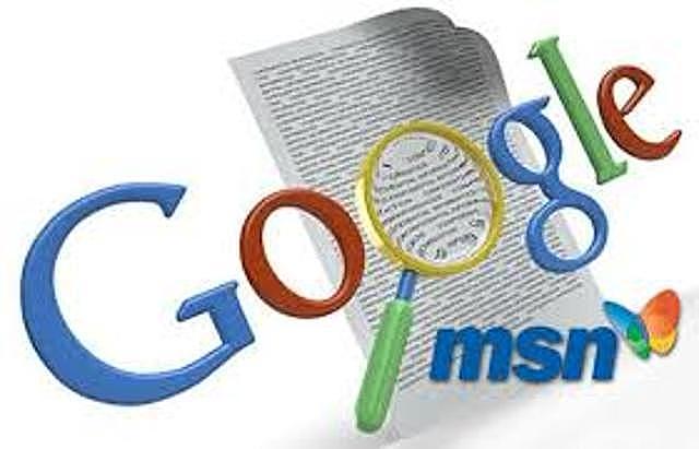 GOOGLE Y MSN