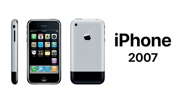 Apple lanza el primer iphone